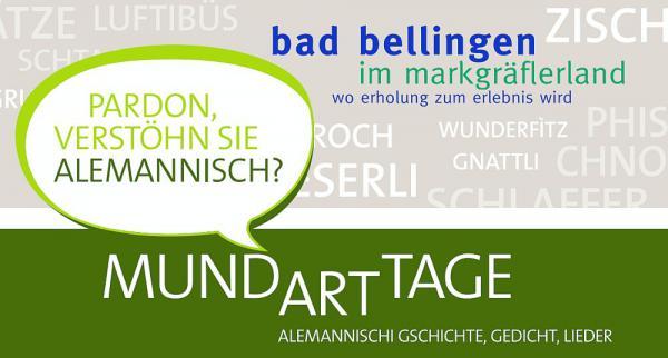 8. bis 10. Juni: Mundarttage Bad Bellingen   Foto: Bade-und Kurverwaltung Bad Bellingen GmbH