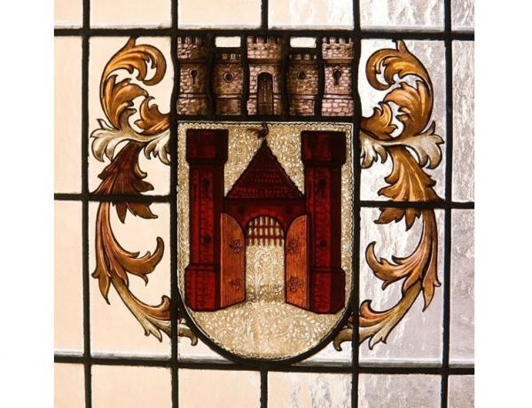 Stadtführungen, Offenburg-Wappen Foto: K. Schlessmann