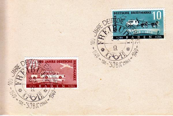 1. bis 17. August: 120 Jahre Sammelleidenschaft - Eine Ausstellung anlässlich des 120-jährigen Bestehens des Freiburger Briefmarken-Sammler-Vereins 1898 e.V.
