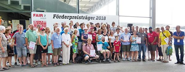 FAIR ways Förderpreises 2018: Die 37 Preisträger  Bild: SCF