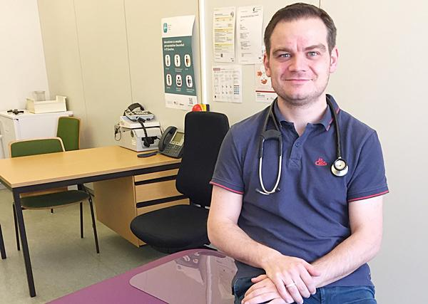 Medizinstudent Alexander Riesener war der erste Famulus im Öffentlichen Gesundheitsdienst im Landratsamt Lörrach.