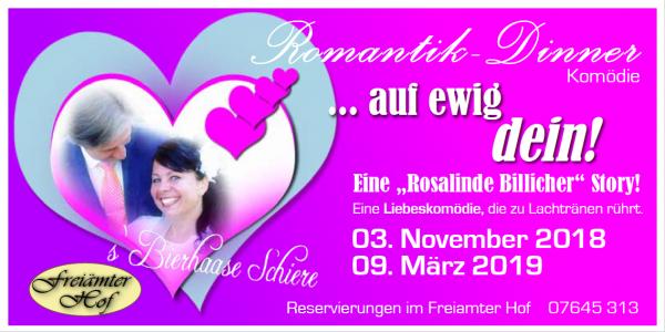 """3. November: Herz-Schmerz-Komödie """"Auf Ewig Dein!"""
