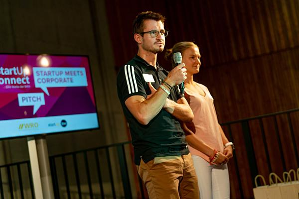Thomas Dold, Gründer von 'Running Fitness' mit Anna Hahner. Foto: WRO