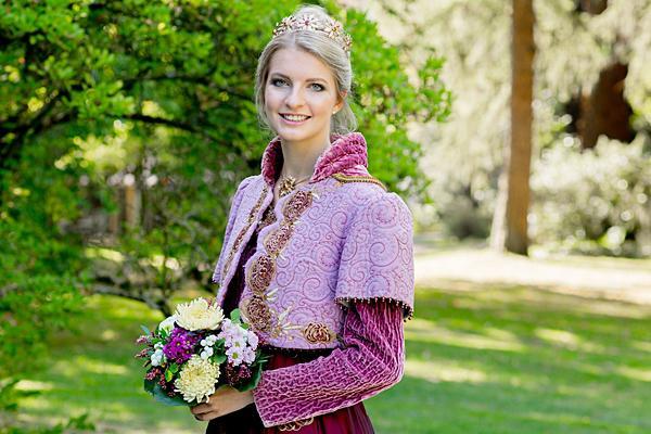 Chrysanthemenkönigin Sonja I.  Foto: Stadt Lahr