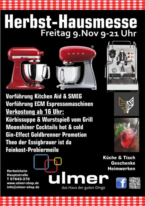 Herbst-Hausmesse bei Ulmer, dem Haus der guten Dinge in Herbolzheim   Bild: FSRM