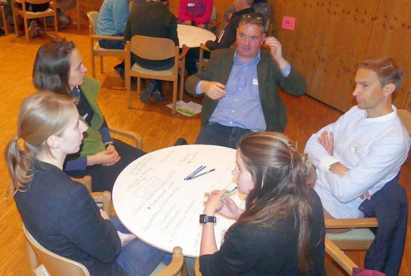 Biosphärengebiet Schwarzwald als Modellregion für eine naturverträgliche Energiewende Wie sieht eine naturverträgliche Energiewende aus? - Arbeitsgruppen sammelten in Schluchsee Vorschläge  Foto: Biosphärengebiet Schwarzwald