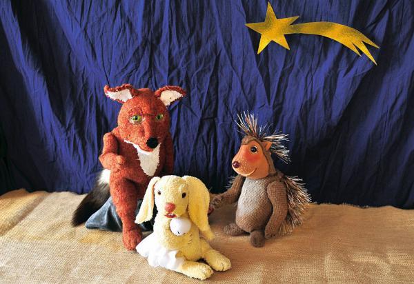 """30. November: """"Ein Weihnachtswunder für drei""""  Foto: Faro-Theater"""