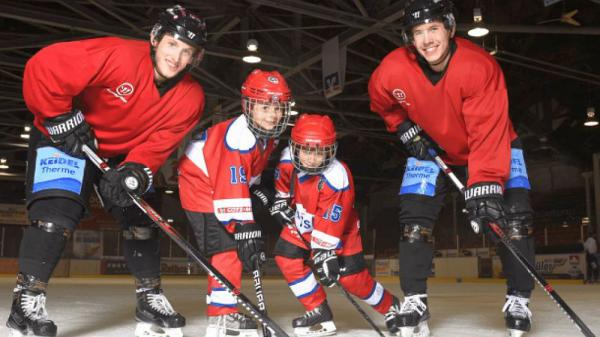 Eishockey, 8. Dezember: Kids Day beim EHC Freiburg  Foto: EHC Freiburg