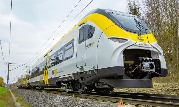 Erster Mireo-Zug für Rheintal wurde vorgestellt   Foto: Siemens Mobility GmbH