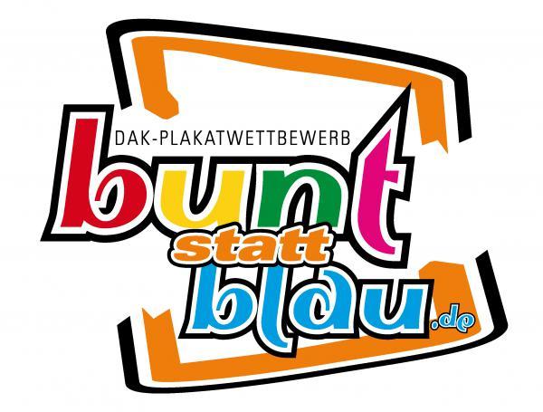 """DAK-Gesundheit: Kampagne """"bunt statt blau"""" im 10.Jahr !"""