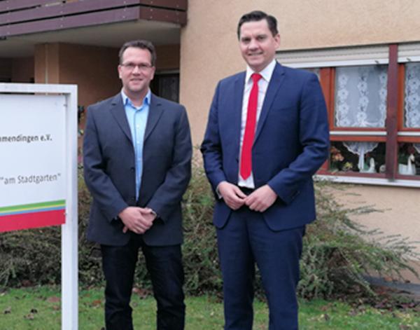 SPD-Bundestagsabgeordneter Fechner besuchte die Awo in Emmendingen
