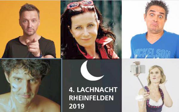 "17. Januar: ""4. Lachnacht Rheinfelden""   Foto: Veranstalter"