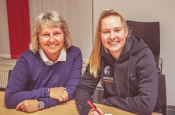 Sport-Club Freiburg verlängert Vertrag mit Janina Minge