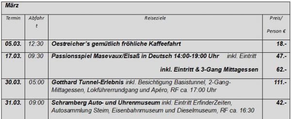 Weitere Informationen:  [url=http:/www.oestreicher-reisen.de/tagesfahrten] www.oestreicher-reisen.de/tagesfahrten [/url]  Heinrich Oestreicher Omnibusbetrieb | Hauptstr. 24 | 79348 Freiamt | Tel. 07645-913457 | E-Mail: oestreisen@aol.com | www.oestreicher-reisen.de
