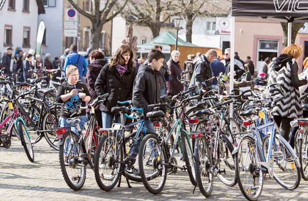 17. März: Tour de Rust 2019 mit Fahrrad-Flohmarkt für Privatanbieter  Archiv-Bild: Bernhard Rein