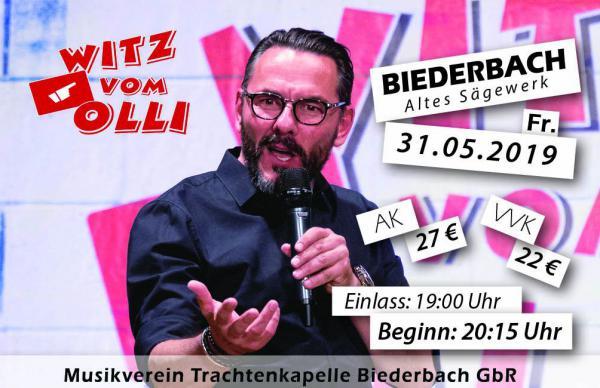 Witz vom Olli am 31.05.2019 zu Gast beim Frühlingsfest in Biederbach