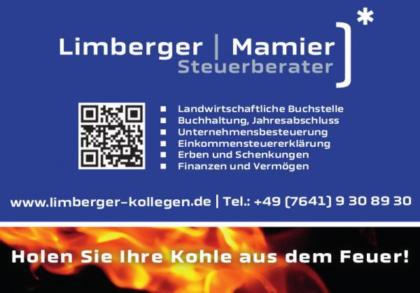 Limberger - Mamier | Steuerberater Kandelstraße 24, 79331 Teningen, Tel. 07641 / 9308930, info@limberger-kollegen.de