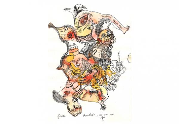 Titelbild zur Ausstellung von Gisela Bartels   Bildrechte: Gisela Bartels