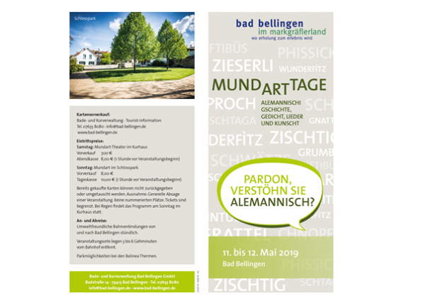 Mundarttage Bad Bellingen