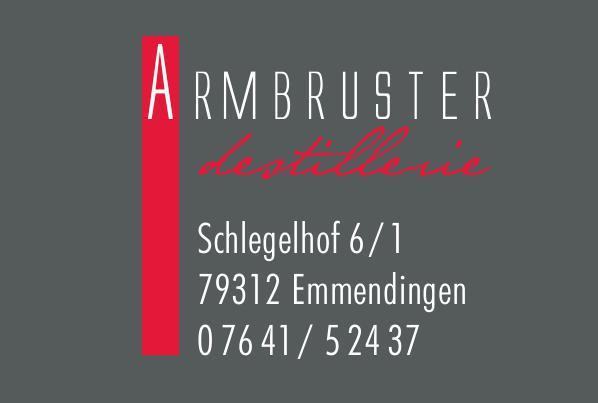 Destillerie Armbruster | Schlegelhof 6/1, 79312 Emmendingen, 07641/52437, 0173/2314628