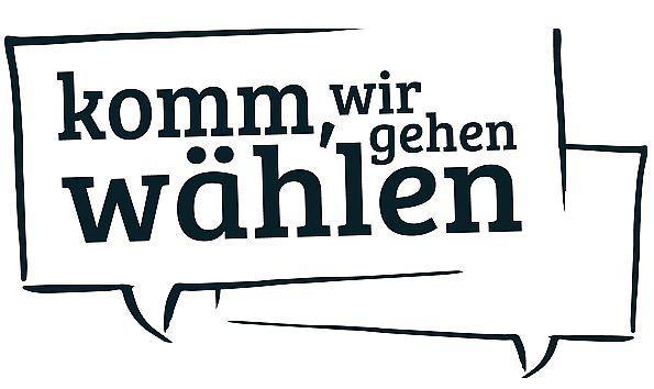 """Kampagne """"Komm wir gehen wählen"""" in Freiburg gestartet - 14 Freiburger Parteien und Listen rufen zu Wahlpatenschaft auf.  Foto: """"Komm, wir gehen wählen"""" - Wahlpatenschaft zur Kommunal- und Europawahl in Freiburg 2019"""