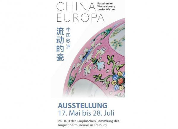 """17. Mai bis 28. Juli: """"China Europa – Porzellan im Wechselbezug zweier Welten"""".  Foto: Stadt Freiburg"""