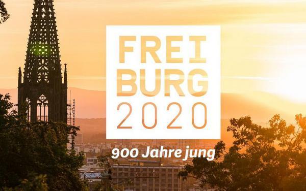 """""""Stadtjubiläum Freiburg 2020"""" jetzt mit eigener Homepage online.  Foto: Stadt Freiburg"""