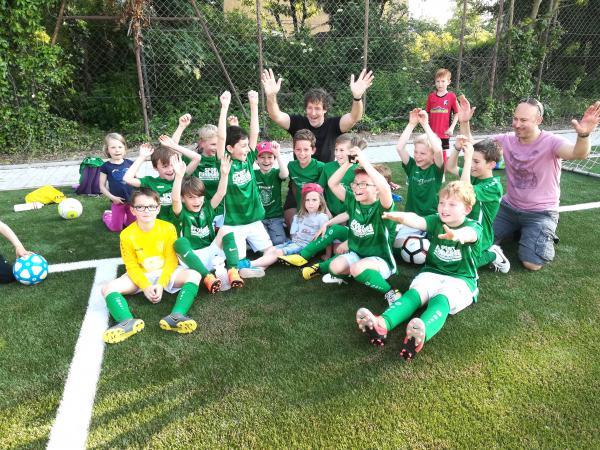 Die Kleinen ganz groß: Beim FC Freiburg-St. Georgen baut man auf den Nachwuchs.