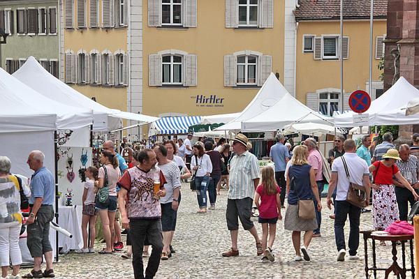 Künstlermarkt in Endingen  Bild: REGIOTRENDS-Lokalteam Kaiserstuhl