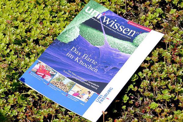 Junge Forscher der Universität Freiburg im Fokus - Neue Ausgabe des Magazins uni'wissen stellt vielversprechende wissenschaftliche Talente vor.  Foto: Sandra Meyndt