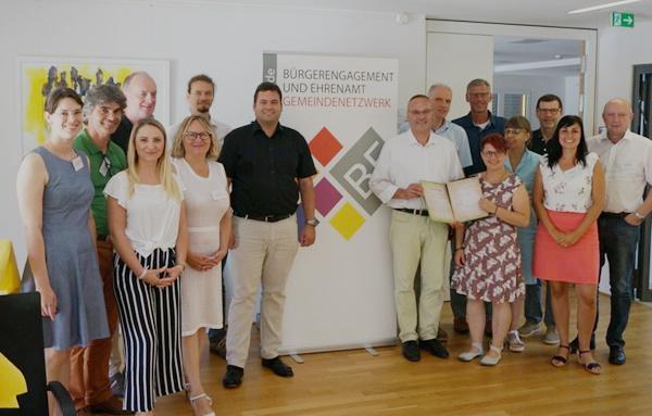 Gruppenfoto Kompetenznetzwerk Quartiersentwicklung  Foto: Janine Bliestle/Gemeindenetzwerk BE