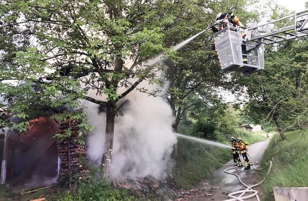 Archivild: Feuerwehr Herbolzheim