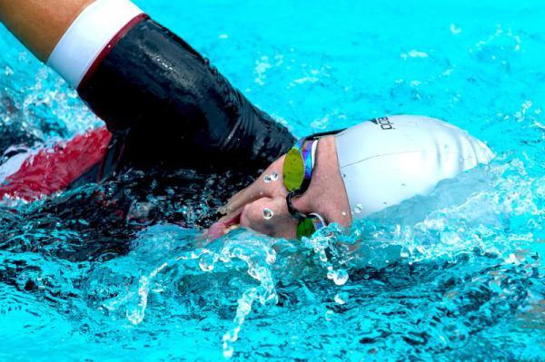Triathlon Schopfheim schwimmen