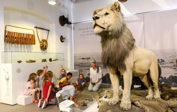 """15. August: """"Hör doch mal!"""" - Kurs für Kinder im Museum im Ritterhaus in Offenburg.  Foto: A. Bleyer"""