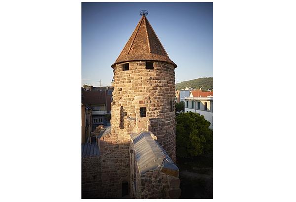 Der Lahrer Storchenturm  Foto: Stadt Lahr