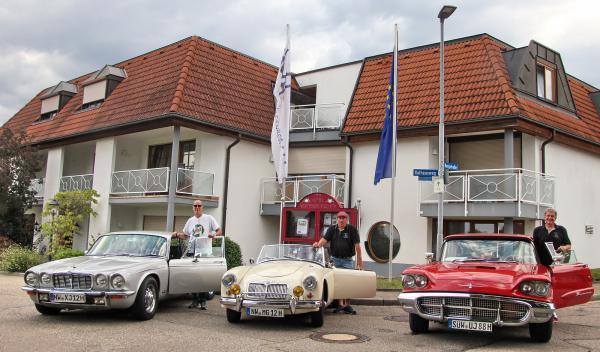 Sommertour der Oldtimerfreunde im Automobil-Club Maikammer macht Station in Emmendingen-Windenreute   REGIOTRENDS-Foto: Reinhard Laniot