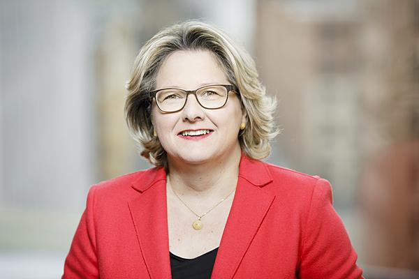 Umweltministerin Svenja Schulze zu Gast in Freiburg