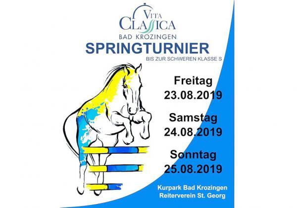 23. bis 25. August: Großes Springturnier im Kurpark Bad Krozingen.  Foto: Reiterverein St. Georg Bad Krozingen