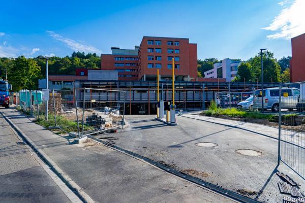 Neue Tiefgarage des Kreiskrankenhaus Emmendingen ab 1. Oktober nutzbar