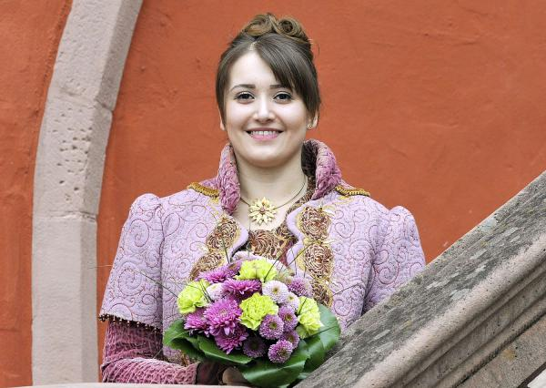 Lorena I. ist Chrysanthemenkönigin 2019. Lorena I. – die neue Chrysanthemenkönigin.  Foto: Stadt Lahr