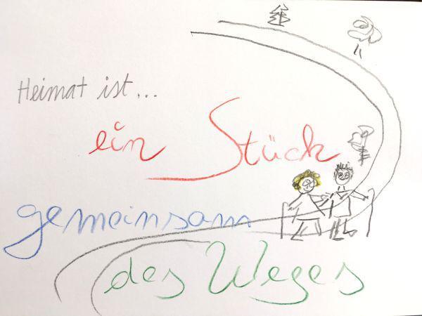 Heimat ist…ein Stück gemeinsam des Weges  Foto: Stadt Waldkirch