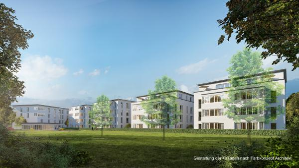 Ansicht aus dem Garten!  Kern-Immobilien, Am Stadtgarten 1, 79312 Emmendingen, Tel. 07641/95499-0, Fax 07641/95499-29, info@kern-immobilien.de, www.kern-immobilien.de