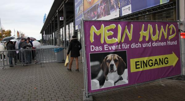 """""""Mein Hund"""" in der Messe Freiburg.  Bild: FSRM"""