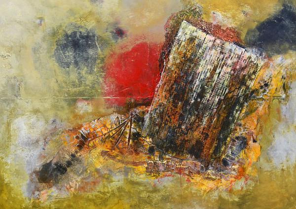 13. November: Werke ohne Namen - Ausstellung mit Gemälden von Andrea Wilcke wird in der Erich-Lexer-Klinik in Freiburg eröffnet.  Foto: Universitätsklinikum Freiburg