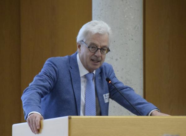 Verbandsvorsitzender Otto Neideck