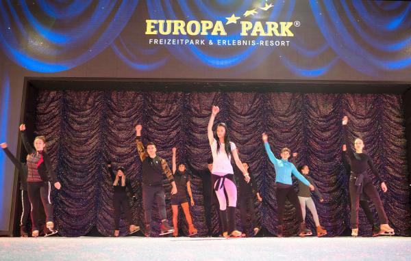 """Große Show """"Paddington™ on Ice"""" im Hyde Park Winter Wonderland in London steht vor Premiere - Proben im Europa-Park laufen auf Hochtouren. Proben im Europa-Park für Paddington™ on Ice im Hyde Park.  Foto: Europa-Park"""