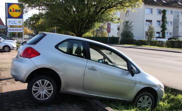 Neu bei LIDL: Einparkhilfen!   Bild: FSRM