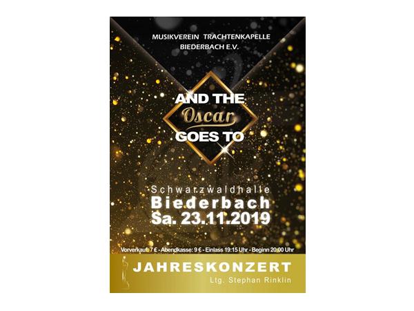Jahreskonzert des Musikvereins Trachtenkapelle Biederbach