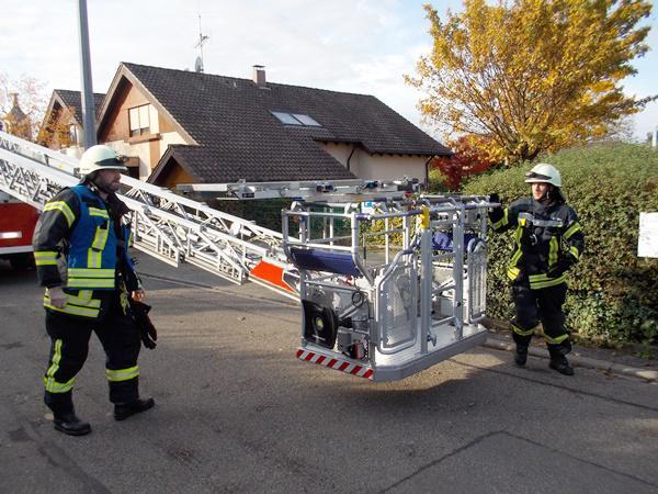 Rettungseinsatz für die Feuerwehr Denzlingen