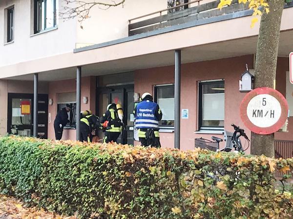 Herbstübung der  Freiwilligen Feuerwehr, Abteilung Buchholz